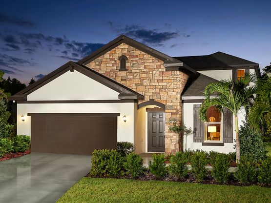 The Northfield is perfect for empty nesters or growing families.
