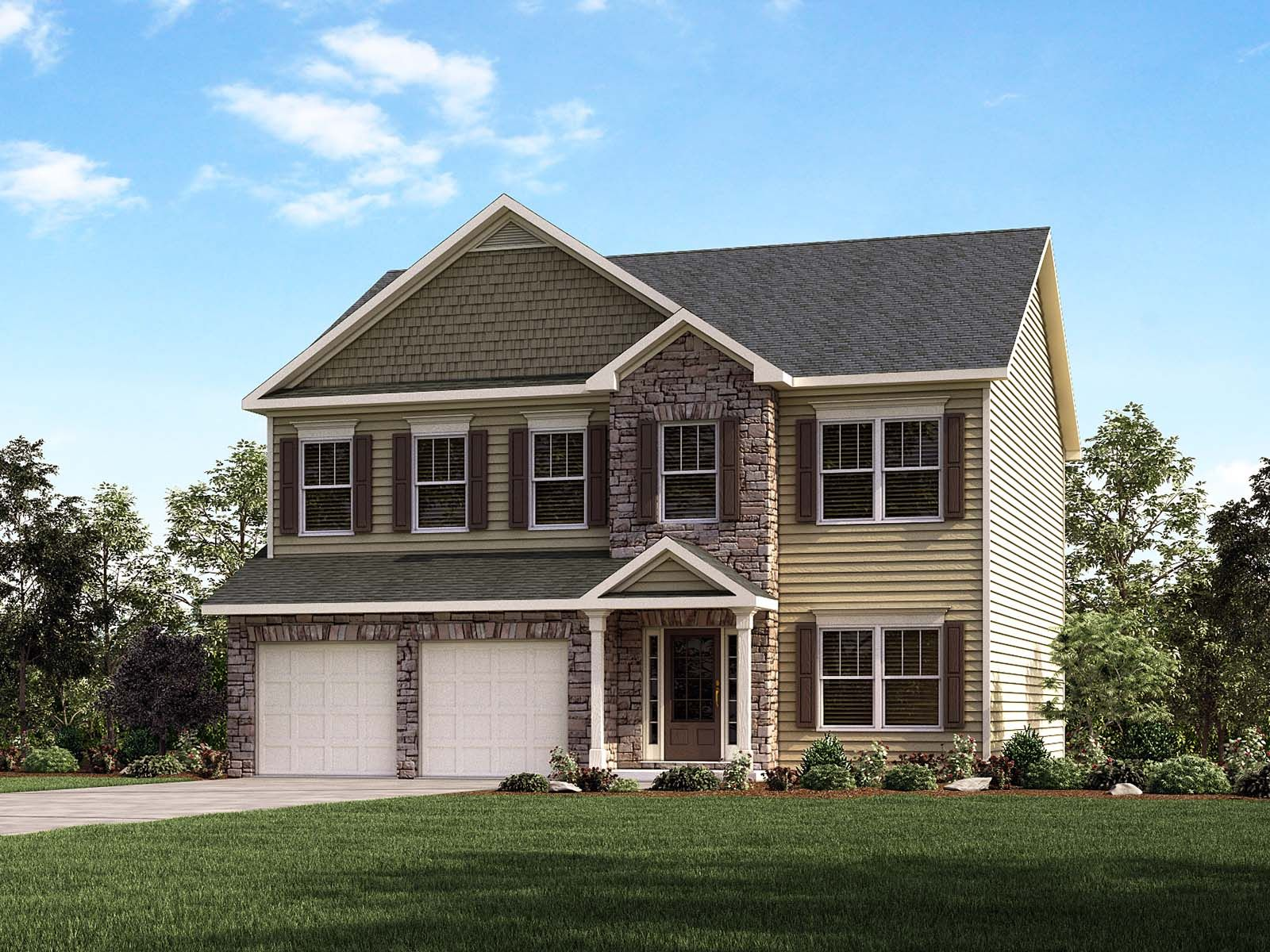 Search travelers rest new homes find new construction in for Home builders spartanburg sc