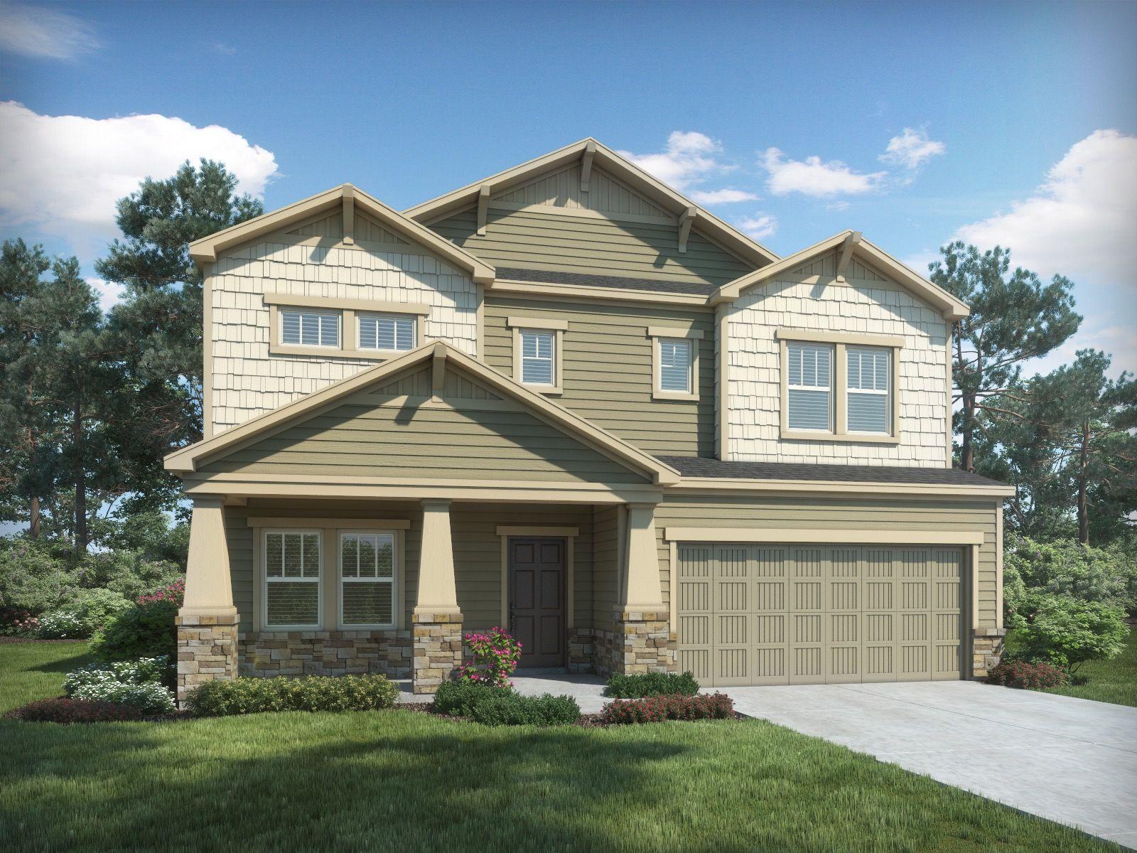 New Homes by Meritage Homes in Atlanta, GA :: 27 Communities
