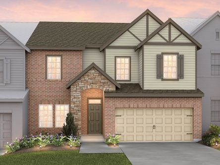 The Greens at Foxland Harbor by Meritage Homes in Nashville Tennessee