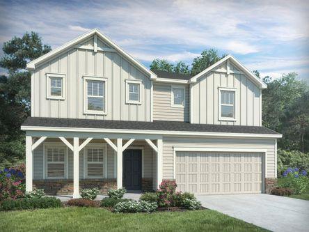 Hawthorne Ridge By Meritage Homes In Greenville Spartanburg South Carolina