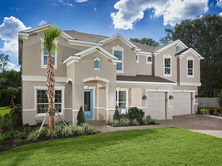 Lake Hanna Preserve By Meritage Homes In Tampa St Petersburg Florida
