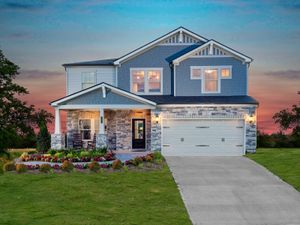 homes in Holland Ridge by Meritage Homes