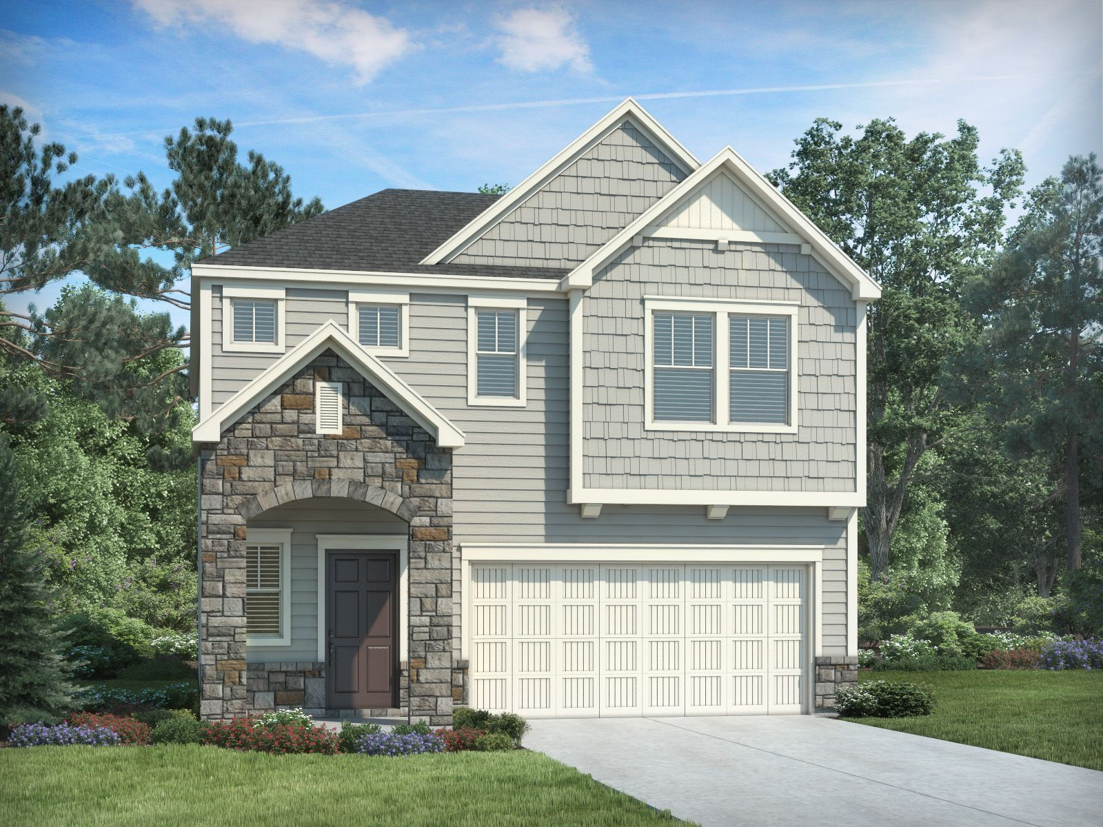 Exterior featured in the Carson By Meritage Homes in Raleigh-Durham-Chapel Hill, NC