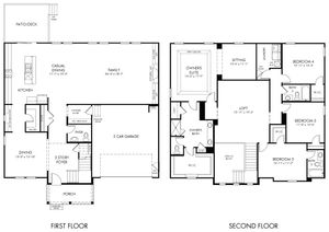 homes in Kilgore Farms by Meritage Homes