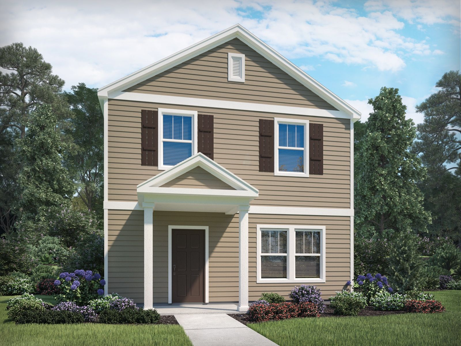 Exterior featured in the Tanner By Meritage Homes in Nashville, TN