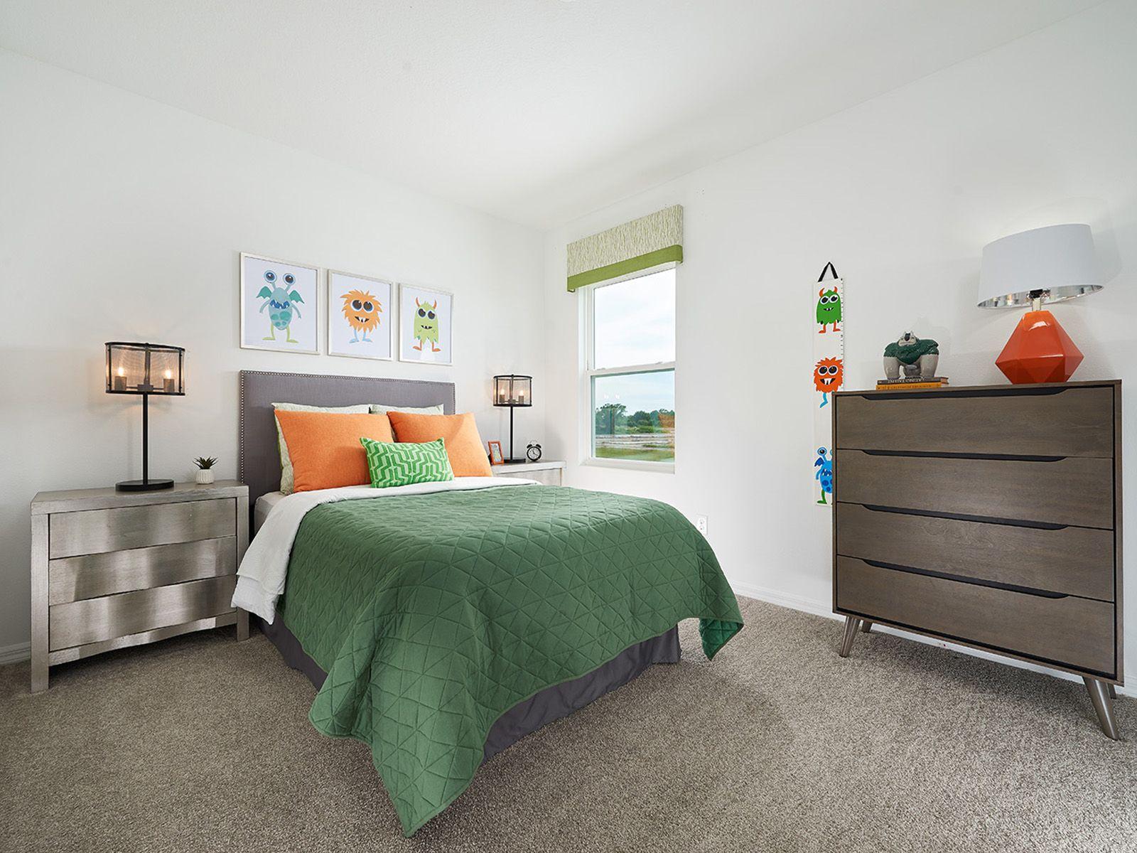Bedroom featured in the Juniper By Meritage Homes in Tampa-St. Petersburg, FL