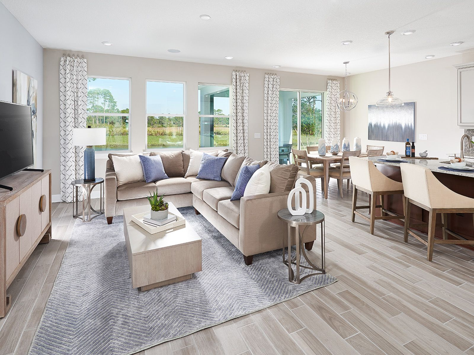 Living Area featured in the Meyer By Meritage Homes in Tampa-St. Petersburg, FL