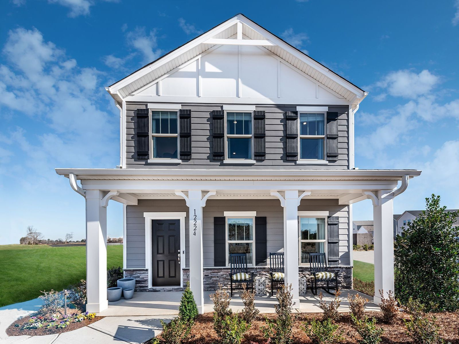 'Stoneybrook Station - The Promenade Series' by Meritage Homes: Charlotte, NC in Charlotte