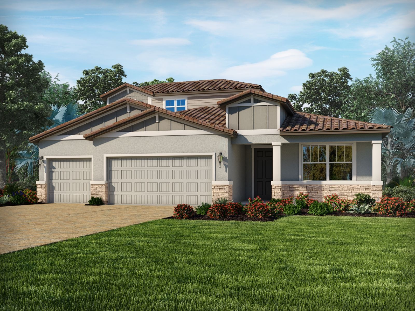 Exterior featured in the Peridot By Meritage Homes in Sarasota-Bradenton, FL