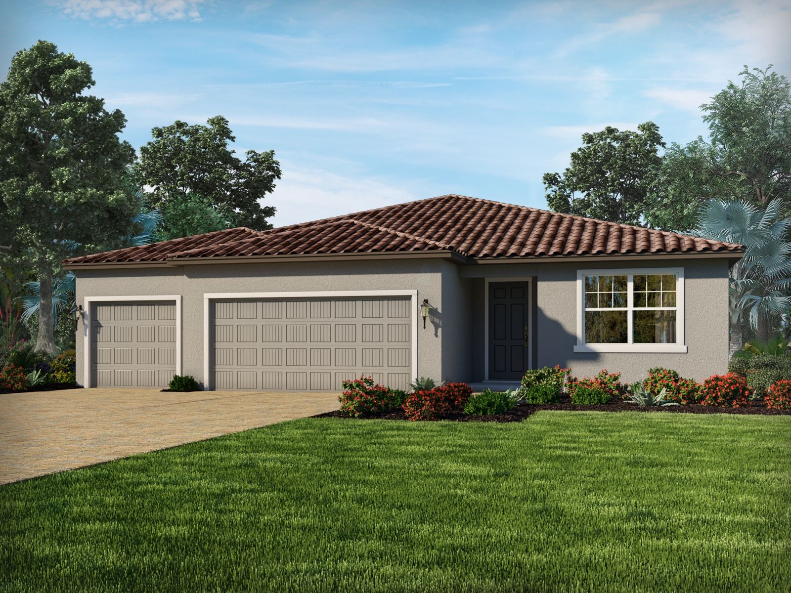 Exterior featured in the Jade By Meritage Homes in Sarasota-Bradenton, FL