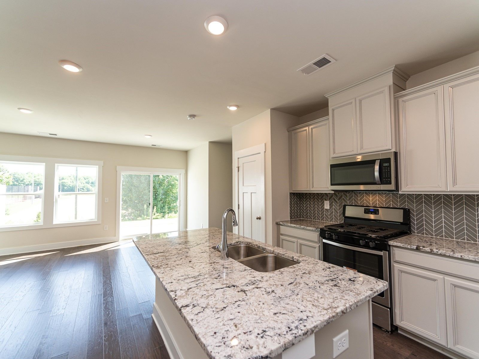 Kitchen featured in the Pearl By Meritage Homes in Greenville-Spartanburg, SC