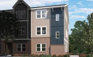 Brickyard Townhomes by Meritage Homes in Raleigh-Durham-Chapel Hill North Carolina