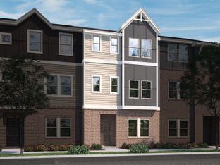 Fairview - Brickyard Townhomes: Cary, North Carolina - Meritage Homes