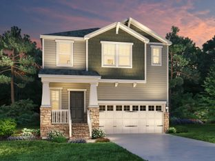 Cobalt - 12 Oaks - The Park Collection: Holly Springs, North Carolina - Meritage Homes