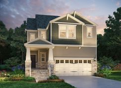 Emerald - 12 Oaks - The Park Collection: Holly Springs, North Carolina - Meritage Homes