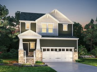 Sapphire - 12 Oaks - The Park Collection: Holly Springs, North Carolina - Meritage Homes