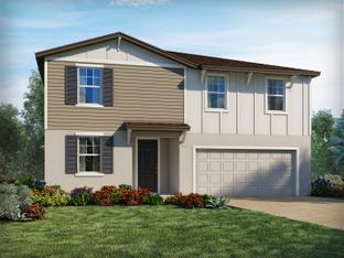 Marigold - Bristol Meadows: Zephyrhills, Florida - Meritage Homes