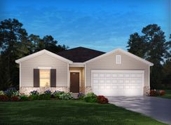 Newport - The Woods at Clover Glen: Cane Ridge, Tennessee - Meritage Homes