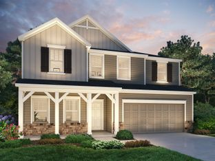 Chastain - Parkview Glen: Pelzer, South Carolina - Meritage Homes