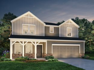 Dalton - Parkview Glen: Pelzer, South Carolina - Meritage Homes