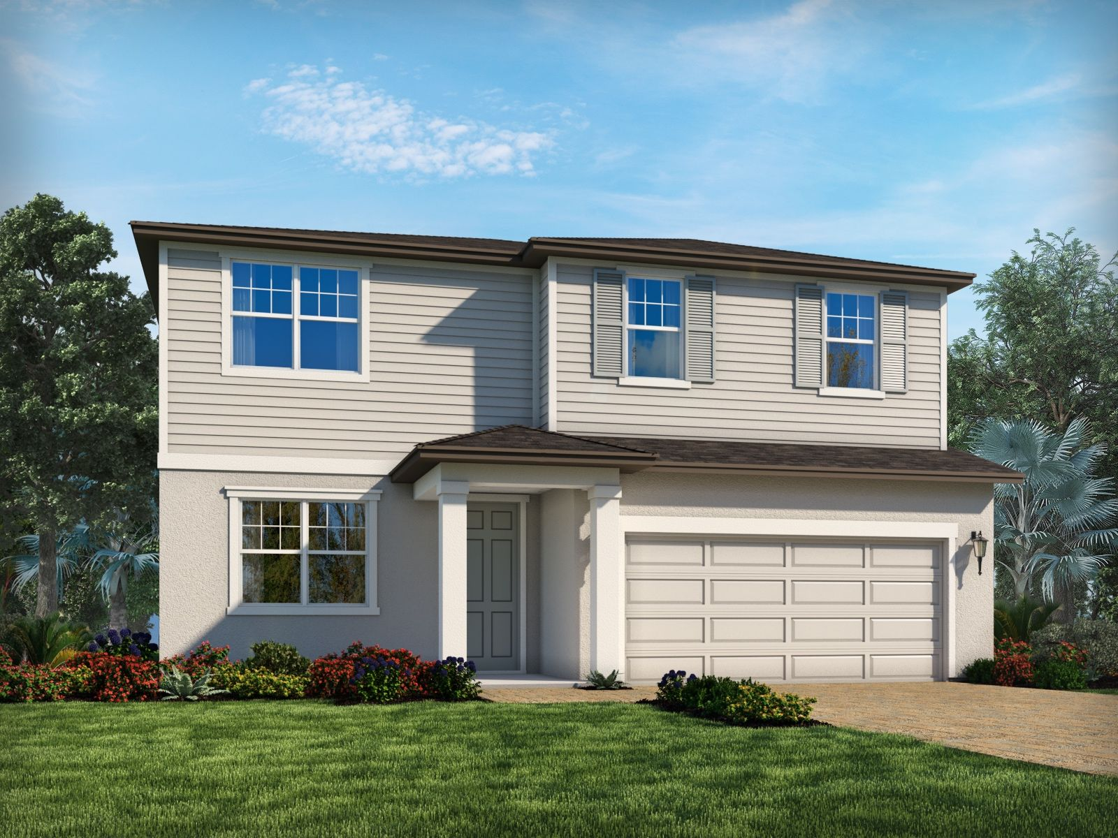 Exterior featured in the Prato By Meritage Homes in Tampa-St. Petersburg, FL