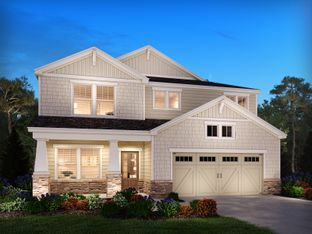 Dalton Basement - Meadows at Idylwilde: Canton, Georgia - Meritage Homes