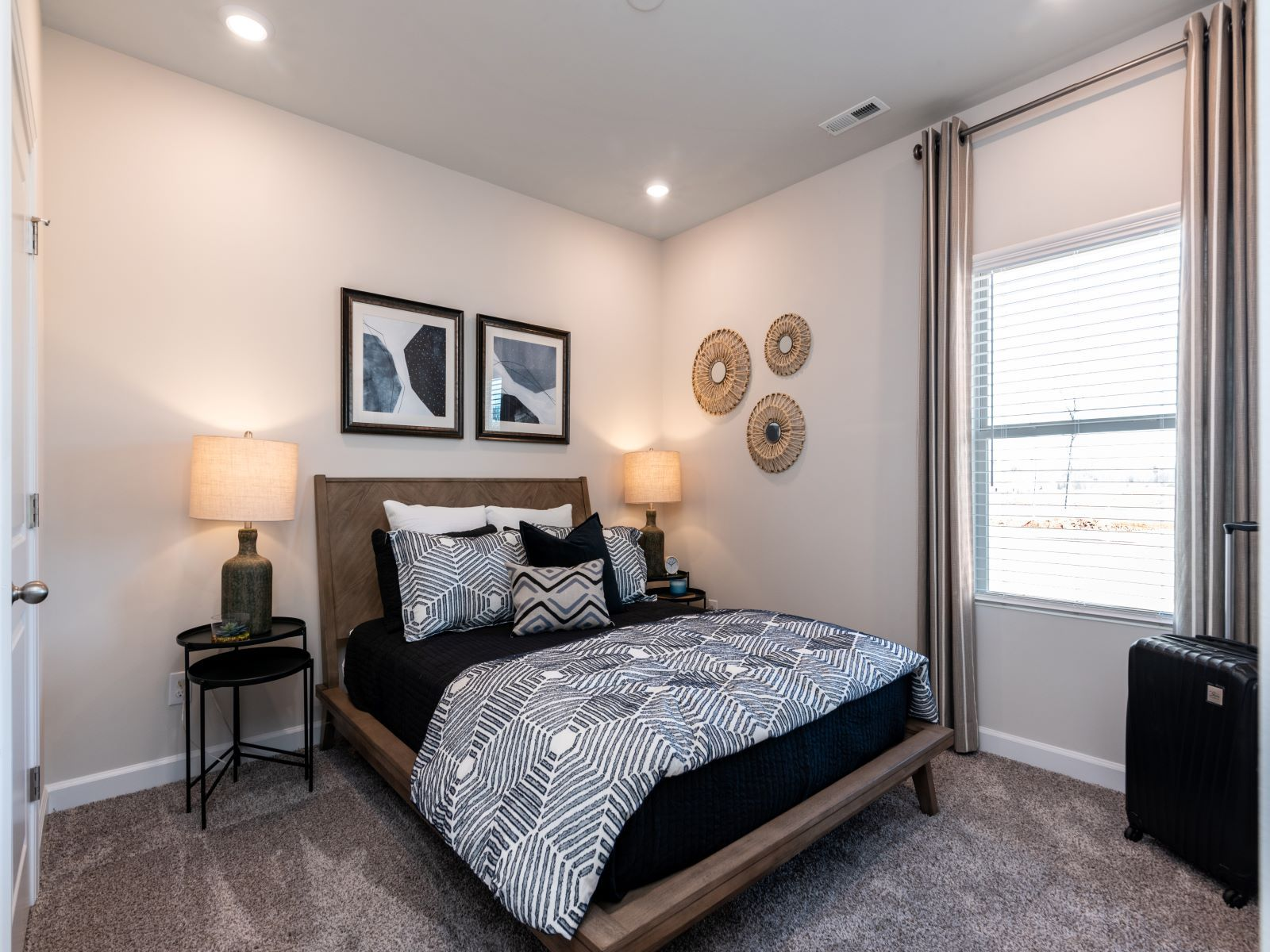 Bedroom featured in the Gibson Basement By Meritage Homes in Charlotte, NC