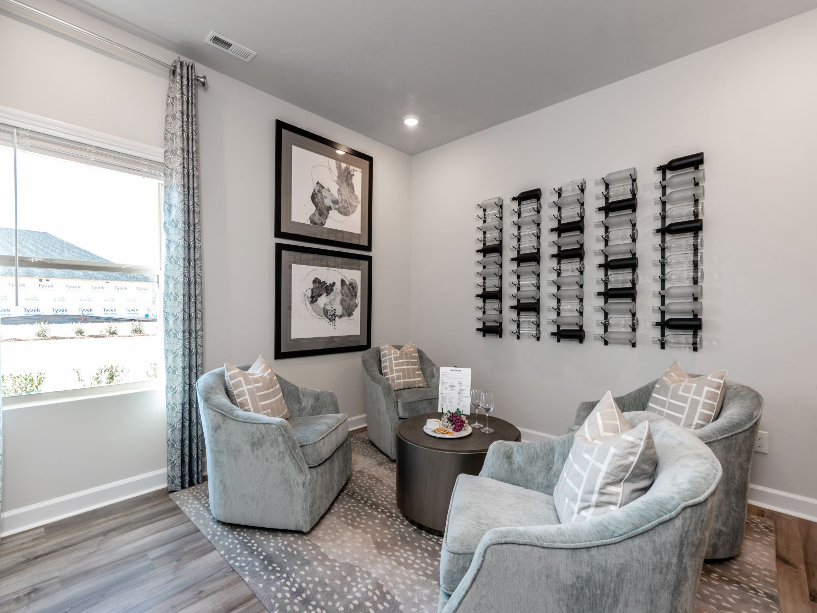 Living Area featured in the Gibson Basement By Meritage Homes in Charlotte, NC