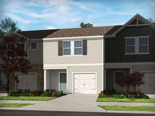 Amber - South & Main Townhomes: Fuquay Varina, North Carolina - Meritage Homes
