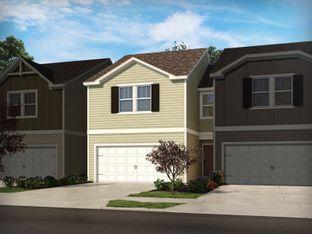 Opal - South & Main Townhomes: Fuquay Varina, North Carolina - Meritage Homes