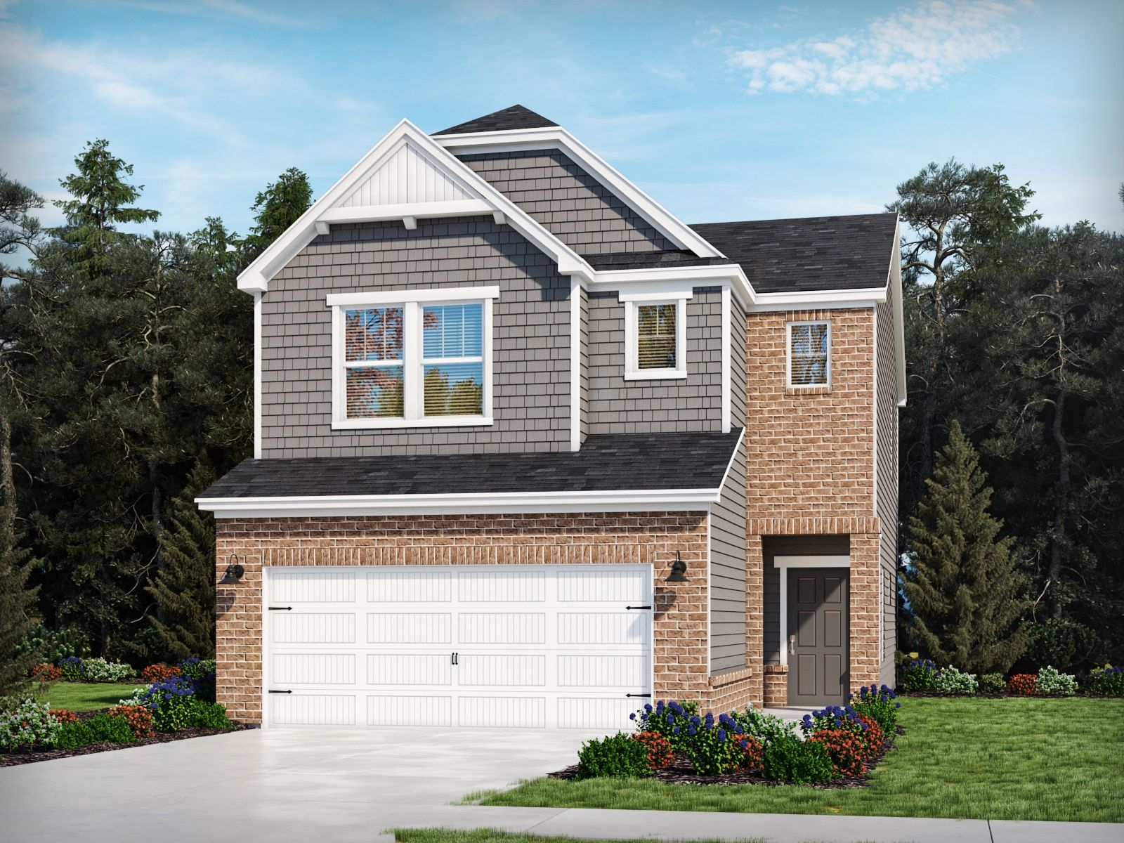 Exterior featured in the Ayden By Meritage Homes in Charlotte, SC