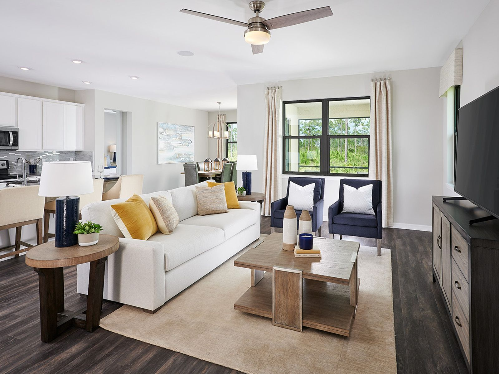 Living Area featured in the Osprey By Meritage Homes in Punta Gorda, FL