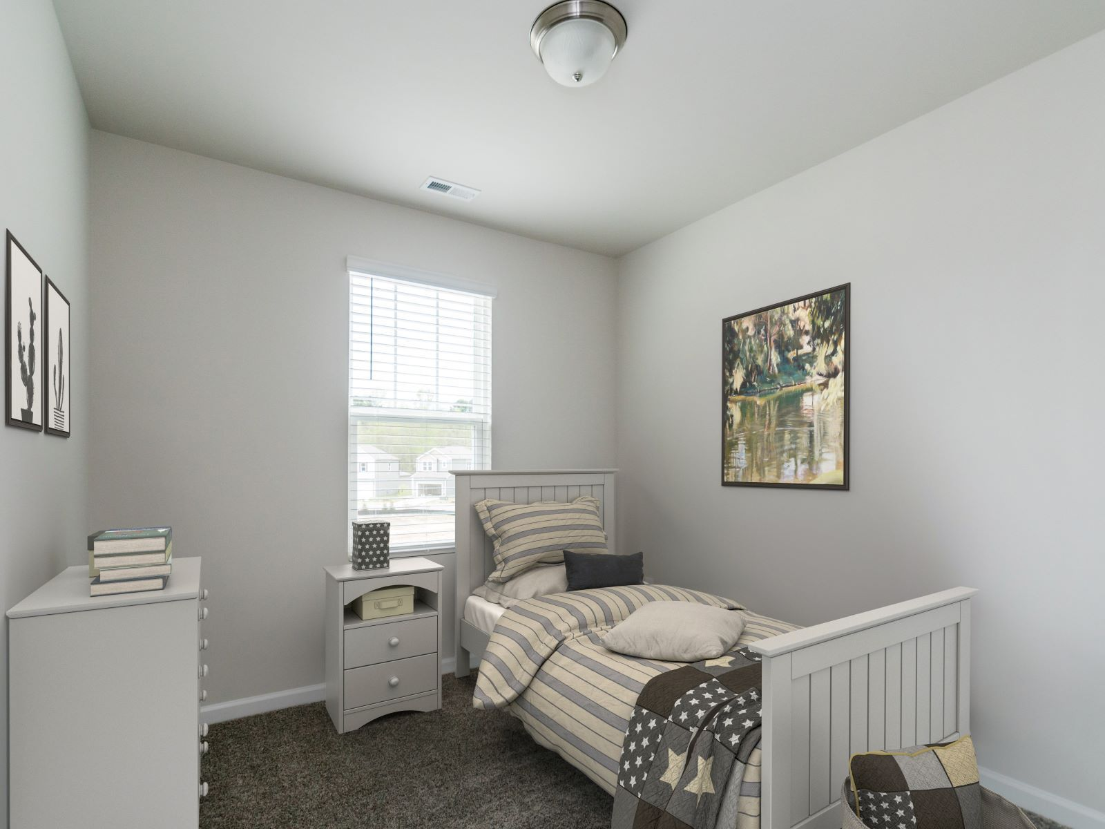 Bedroom featured in the Decatur By Meritage Homes in Raleigh-Durham-Chapel Hill, NC