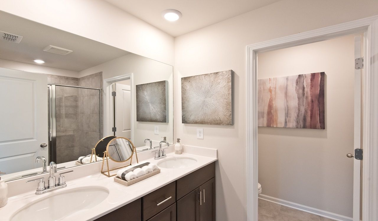 Bathroom featured in the Opal End Unit By Meritage Homes in Atlanta, GA