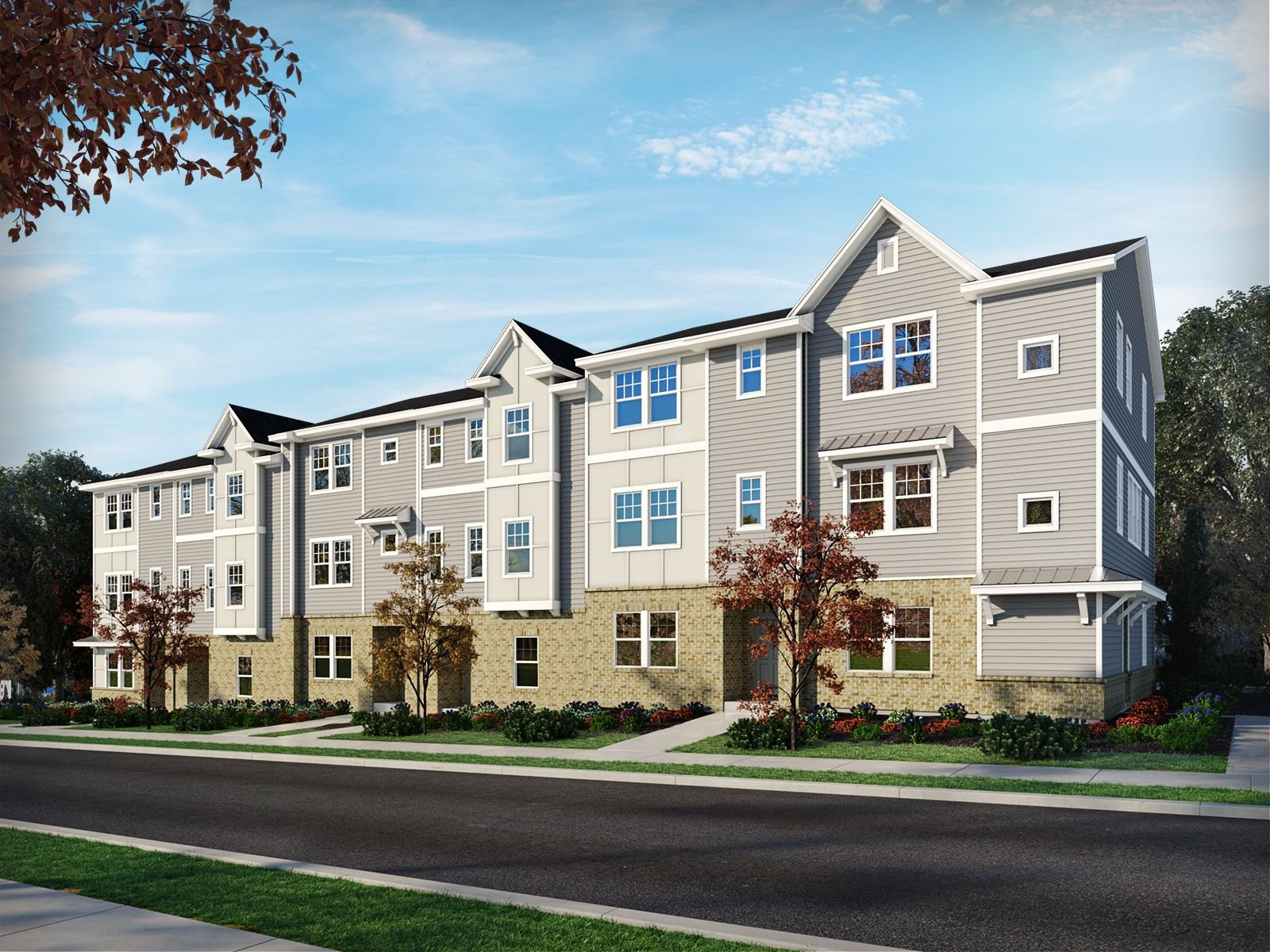 'Enclave at City Park - The Heights Series' by Meritage Homes: Charlotte, NC in Charlotte