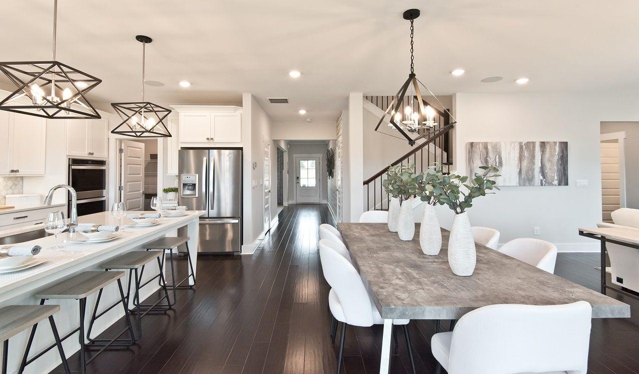 Kitchen featured in the Dakota By Meritage Homes in Atlanta, GA