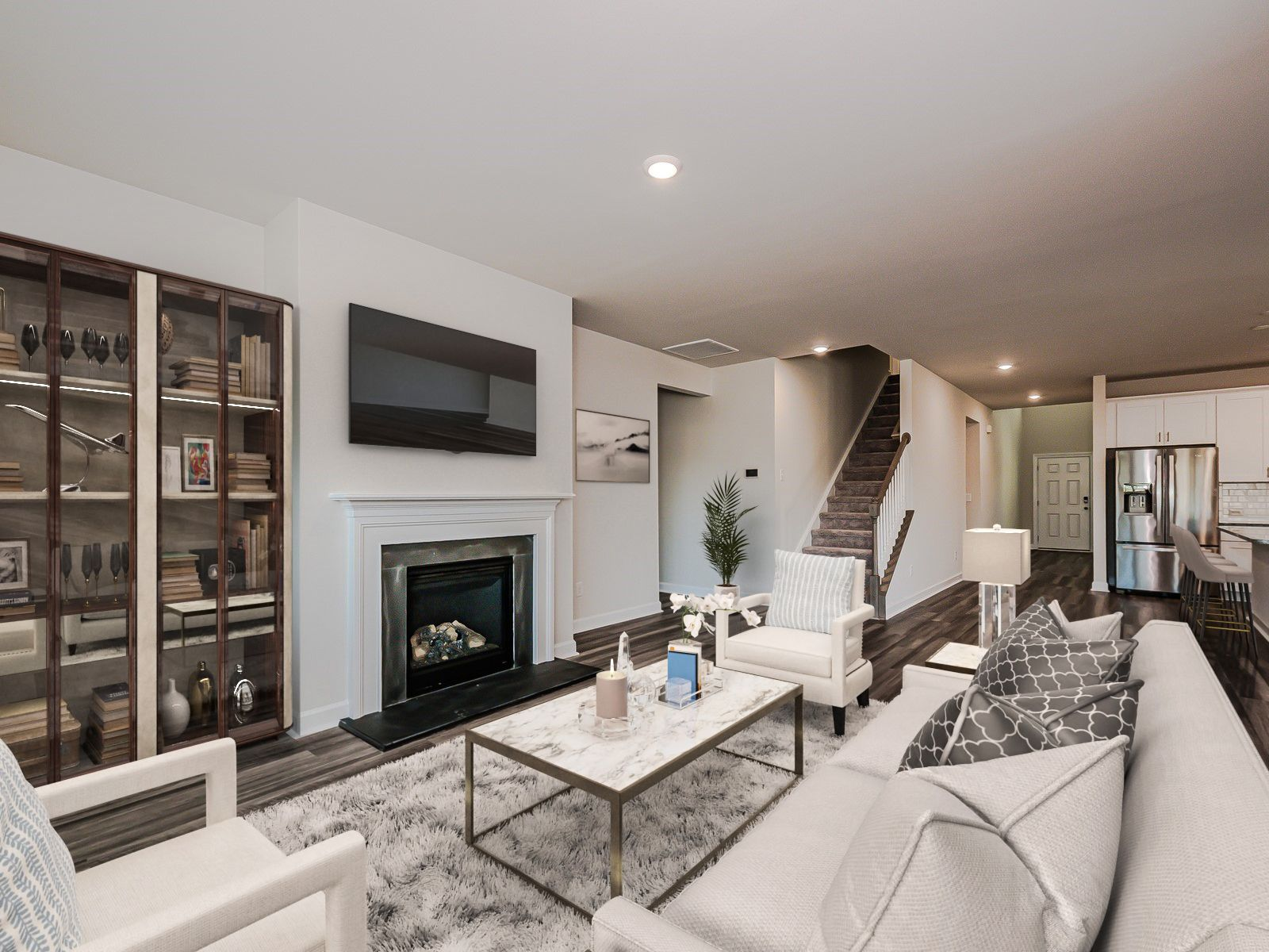Living Area featured in the Sherwood By Meritage Homes in Charlotte, NC