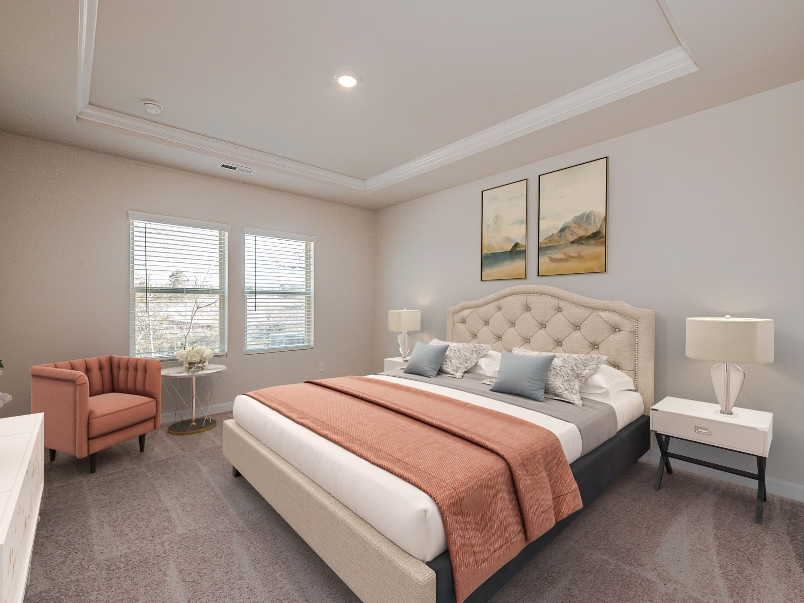 Bedroom featured in the Sherwood By Meritage Homes in Charlotte, NC