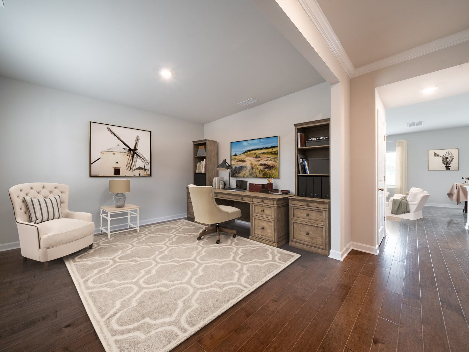 Living Area featured in the Brentwood By Meritage Homes in Charlotte, NC