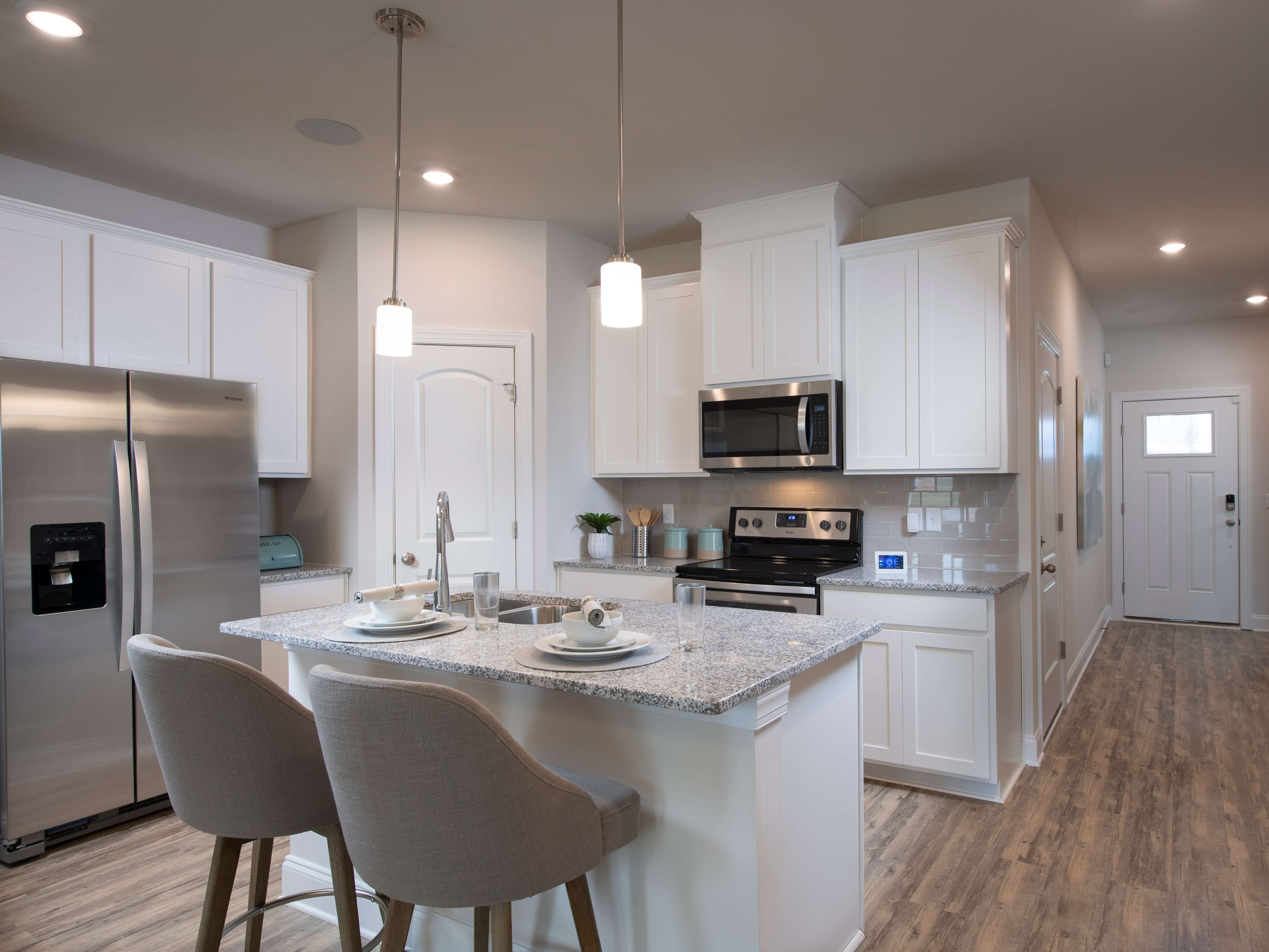 Kitchen featured in the Amber By Meritage Homes in Greenville-Spartanburg, SC