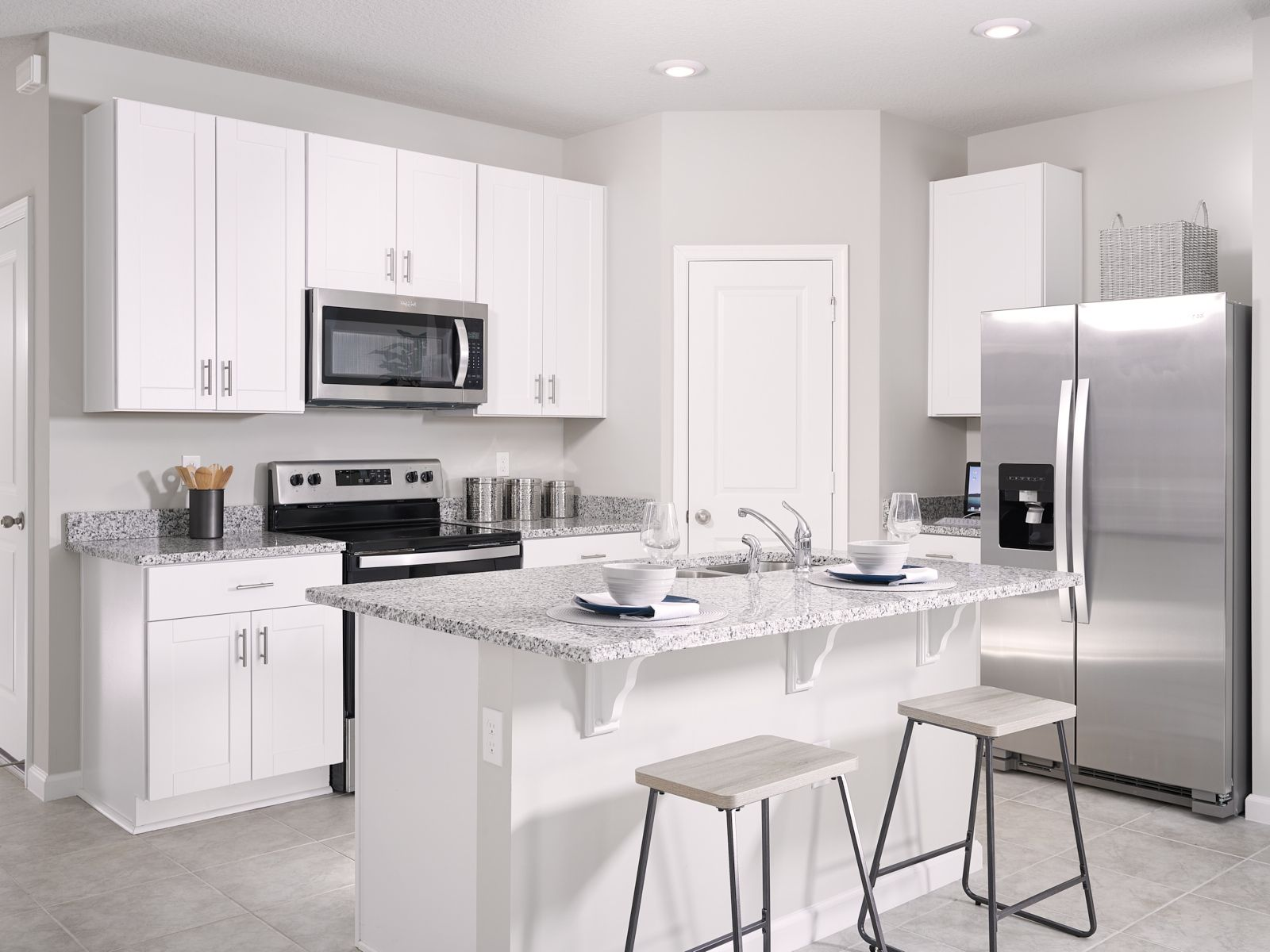 Kitchen featured in the Nickel By Meritage Homes in Martin-St. Lucie-Okeechobee Counties, FL