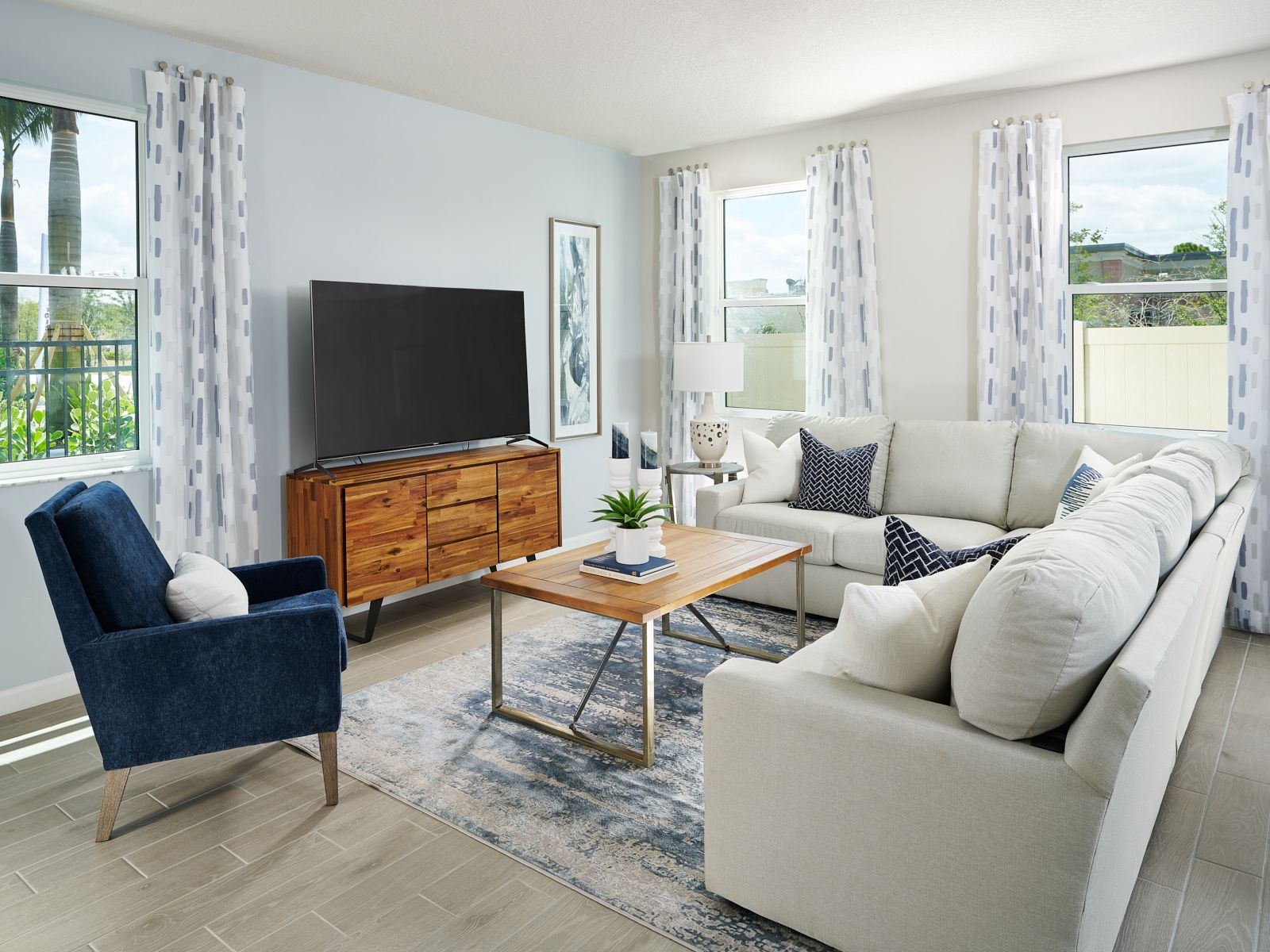 Living Area featured in the Copper By Meritage Homes in Martin-St. Lucie-Okeechobee Counties, FL