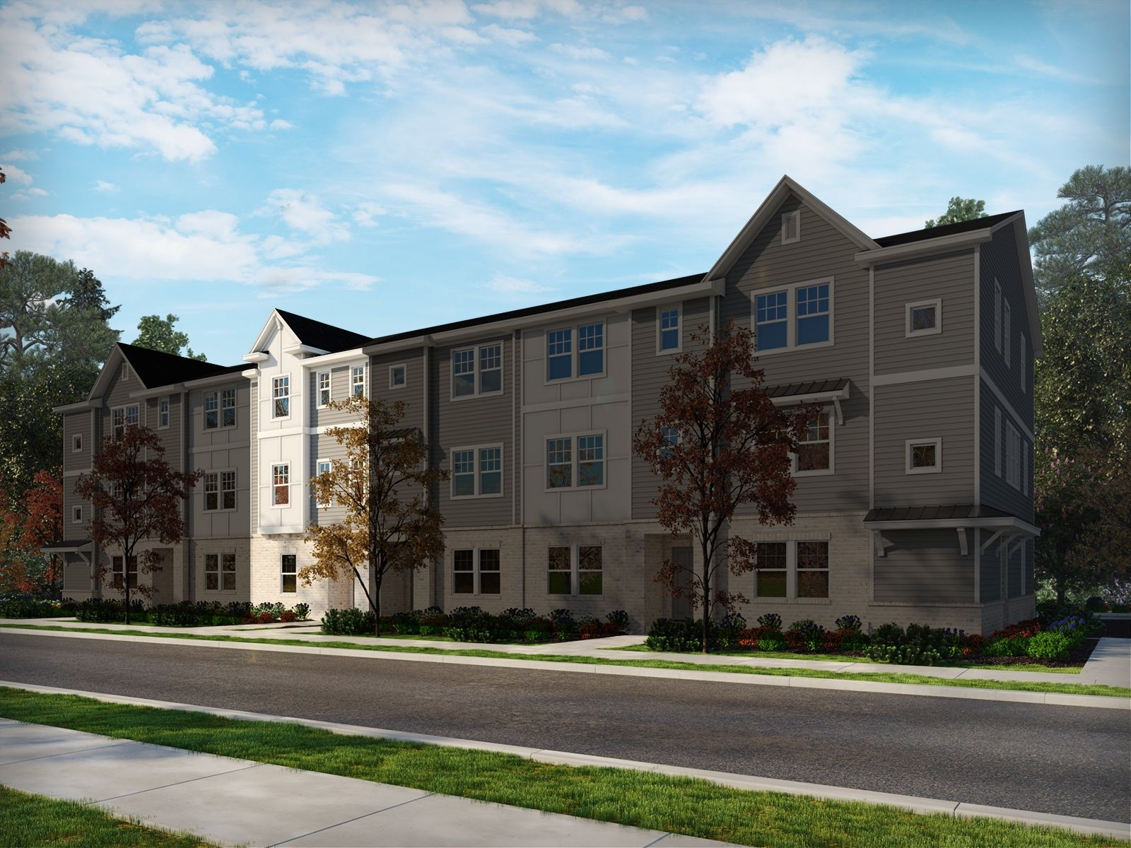 Exterior featured in the Farmington By Meritage Homes in Charlotte, NC