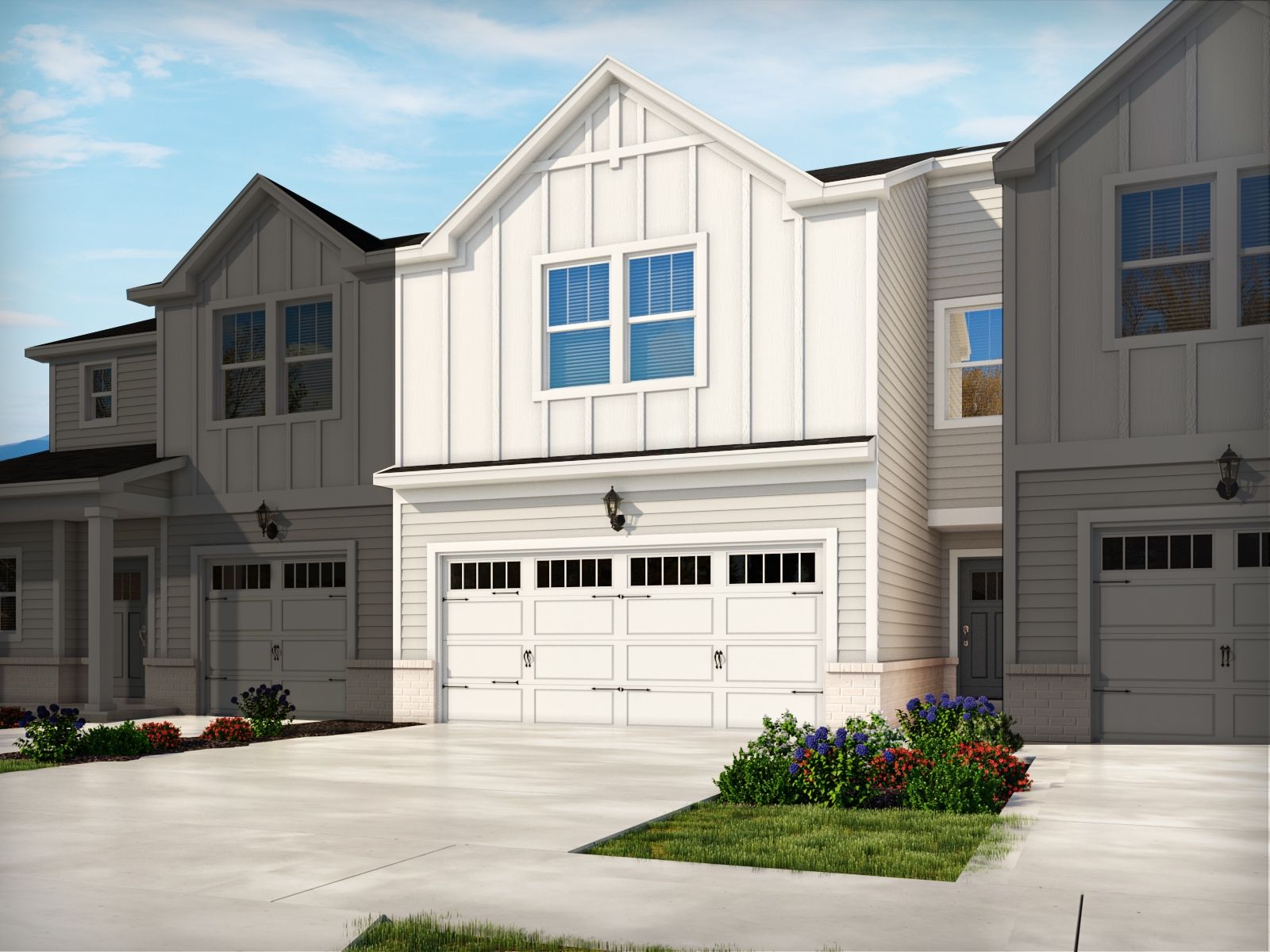 Exterior featured in the Opal By Meritage Homes in Greenville-Spartanburg, SC
