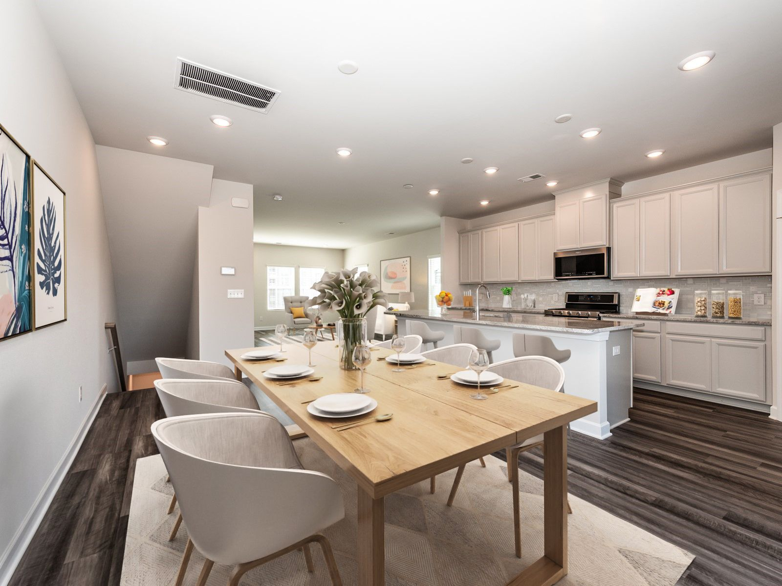 Kitchen featured in the Farmington By Meritage Homes in Charlotte, NC