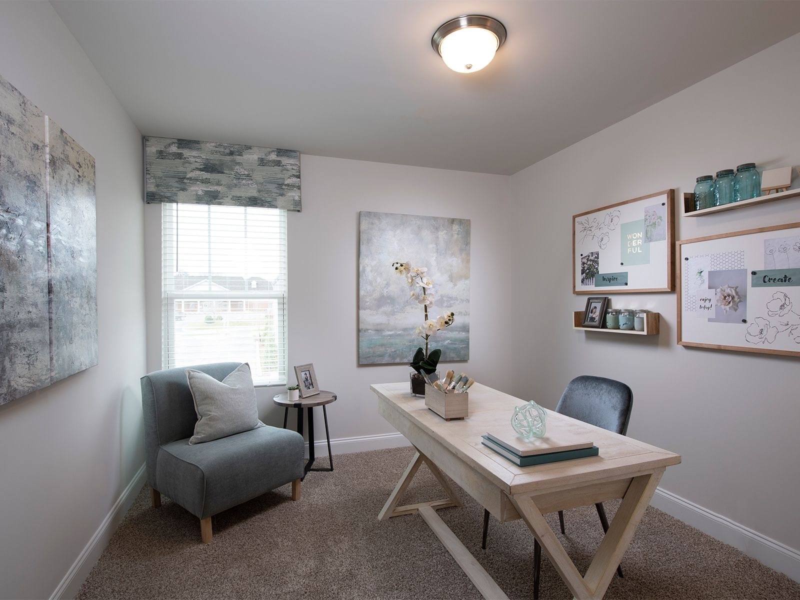 Living Area featured in the Amber By Meritage Homes in Greenville-Spartanburg, SC