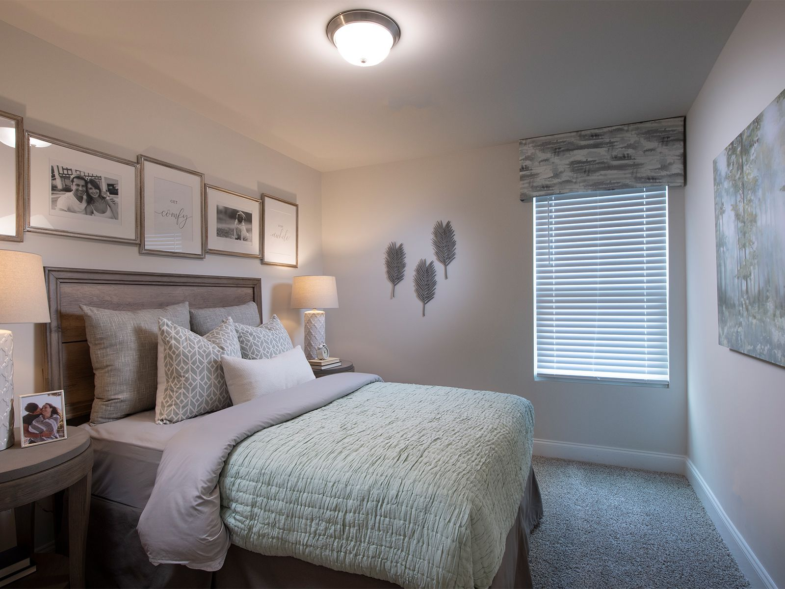 Bedroom featured in the Amber By Meritage Homes in Greenville-Spartanburg, SC