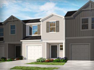 Topaz - Foxcroft Townes: Greenville, South Carolina - Meritage Homes