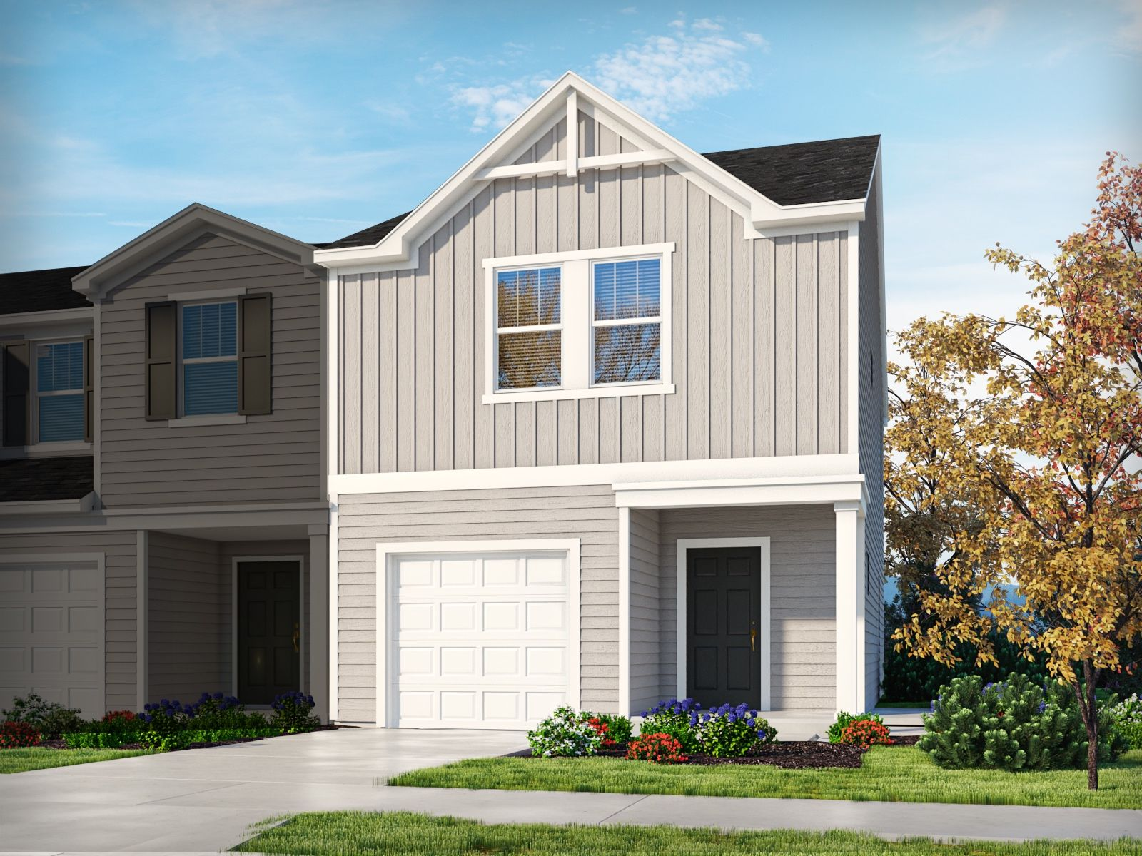 Exterior featured in the Amber By Meritage Homes in Greenville-Spartanburg, SC